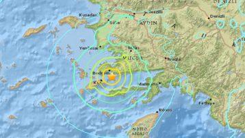 Bodrum'da şiddetli deprem, iki farklı açıklama: AFAD 4.9; Kandilli 5.3