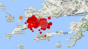 Kandilli'den deprem açıklaması: Depremin büyüklüğü 6.6