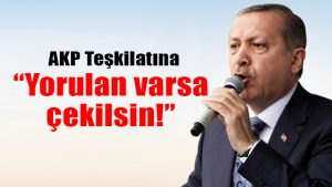 Erdoğan, AKP'deki sürpriz toplantıda konuştu: Yorulan varsa çekilsin