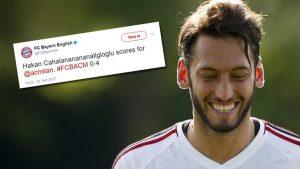 Bayern Münih, Hakan Çalhanoğlu'nun adını yanlış yazdı, esprili şekilde özür diledi