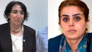 HDP'li kadın milletvekilleri Ayşe Acar Başaran ile Saadet Becerikli hakkında yakalama kararı