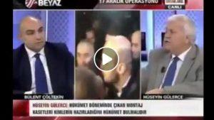 """Hüseyin Gülerce'nin 17-25 Aralık arası Beyaz TV'de Erdoğan'a """"aymaz"""" diyor: Ak Parti gider, Pak parti gelir"""