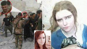 Önce IŞİD'in seks kölesi zannetmişler, terör örgütünün keskin nişancısı çıktı!