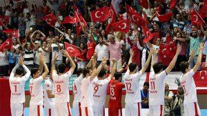 23. Yaz İşitme Engelliler Olimpiyatları erkek voleybol final maçında Türkiye, Ukrayna'yı yenerek altın madalya aldı