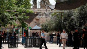 İsrail'den Mescid-i Aksa'daki dedektörlerle ilgili u dönüşü: Kalkmayacak!