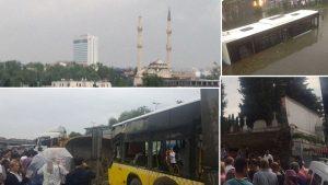 İstanbul'un her yerinden felaket haberleri geliyor…
