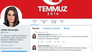 Jülide Sarıoğlu onaylı twitter hesabını kapatıp yenisini açtı: Hakkımda paylaşılanlar fotoşop dedi!