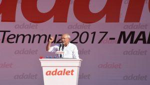 Kılıçdaroğlu, Adalet mitinginde milyonlara hitap etti: 9 Temmuz yeni bir adımdır