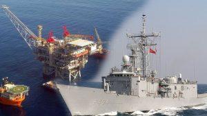 Kıbrıs'ta flaş gelişme: Türk Savaş gemisi takibe aldı!
