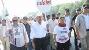 Adalet Yürüyüşü 18. güne erken başladı; Erdoğan'a Kılıçdaroğlu'ndan yanıt