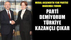 Kemal Kılıçdaroğlu'ndan Meral Akşener'in yeni partisi için açıklama