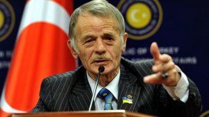 Kırım Tatar halkının milli lideri Kırımoğlu Ankara'da