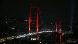 15 Temmuz Şehitler Köprüsü 12:00'dan itibaren trafiğe kapatılacak