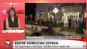 Halk TV'nin tanınmış sunucusu depremi saniye saniye yaşadı! Halk TV'ye anlattı…