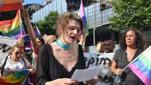 LGBT'nin korsan eylemine 7 gözaltı