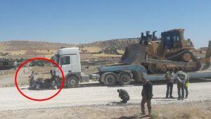 Mardin'de Fosfat yatakları peşkeş mi çekiliyor? Köylüler iş makinelerinin önünü kesti…