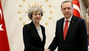 Theresa May  ile Erdoğan görüşecek