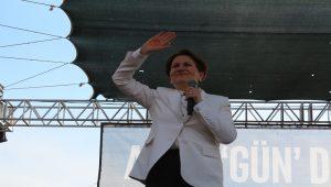Meral Akşener'den Adalet mitingi mesajı