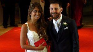 Lionel Messi ve Antonella Roccuzo evlendi