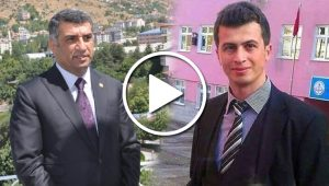 CHP Tunceli'de Necmettin öğretmen için yürüyor