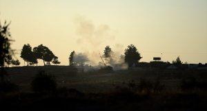 TSK vurdu! Hedef terör örgütü PYD'nin mevzileri…