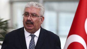 """MHP'li Semih Yalçın'dan AKP'li Mahir Ünal'a """"Nezaket ve tahkir"""" cevabı"""