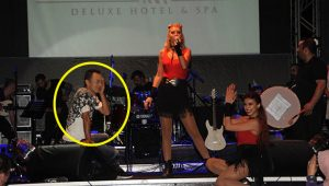 Serdar Ortaç hastalığı nedeniyle sahnede zor anlar yaşadı!