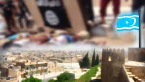 Telafer en az 160 Türkmen, IŞİD tarafından infaz edildi!