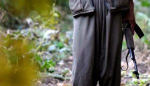 PKK'ya büyük şok! Aranan terörist teslim oldu
