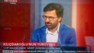 """TRT'den taraflı yayın; """"Sözde Adalet yürüyüşü"""" ifadesine yurtaşlardan sert tepki"""