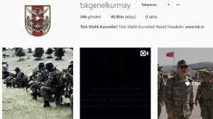 Türk Silahlı Kuvvetler, sosyal medyada da etkin