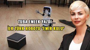 """İlk Türk robotu; """"Emir kulu"""""""