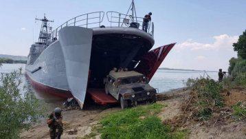 Tuna Nehri'nde NATO tatbikatı