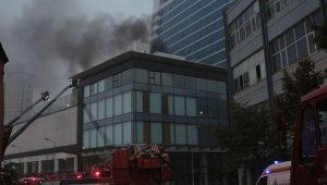 İstanbul'da lüks otelde yangın