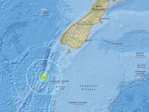 Yeni Zelanda'da korkutan deprem!