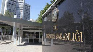 Dışişleri Bakanlığı: KKTC Hükûmeti ile gereken karşılık verilecektir