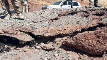 Irak'ta Türk askerinin geçişi sırasında patlama: 2 yaralı!