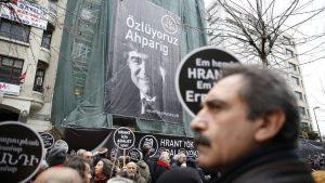 Hrant Dink davasında savcı 4 isim için tahliye istedi