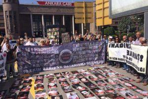 10 Ekim katliamının 22. ayında yitirilenler için anıt talebi