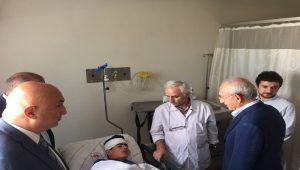 Kaza yapan 16 yaşındaki çocuk işçiye CHP Lideri Kemal Kılıçdaroğlu sahip çıktı