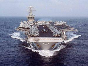 Savaş adımları! ABD, Çin Denizi'ne girdi!