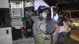 Adana'da bomba imha ekibi ile esnaf bakın niye tartıştı