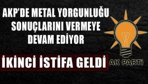 AKP'den ikinci istifa Muş'tan geldi