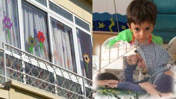 Vatandaşlar serviste unutulup havasızlıktan ölen minik Alperen'in okulununa saldırdı