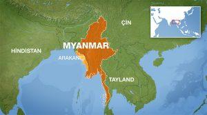 Binlerce Arakanlı Müslüman Myanmar'dan kaçıyor