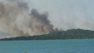 Ayvalık'ta orman yangını! Şeytan Sofrası yanıyor!