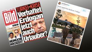 Türkiye'yi eleştiren Alman Bild gazetesinin eski genel yayın yönetmeni Bodrum'da tatilde