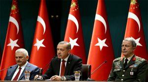 YAŞ öncesi 6 saatlik sürpriz görüşme: Erdoğan-Yıldırım-Akar bir araya geldi