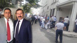MHP'nin Bursa'da seçilmiş son İl Başkanları Yılmaz ve Toktaş'a çirkin saldırı