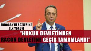 CHP'den Erdoğan'ın sözlerine yorum geldi: 'Raconu mafya babaları keser'